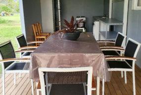 Auberge De Gaulle - Voh Caledonie - Hébergement - Dortoir - Deck