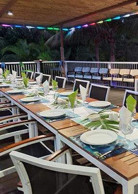 Auberge De Gaulle - Voh Caledonie - Restaurant - Réception